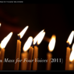 Benedictus from Schlenker's Mass for Four Voices
